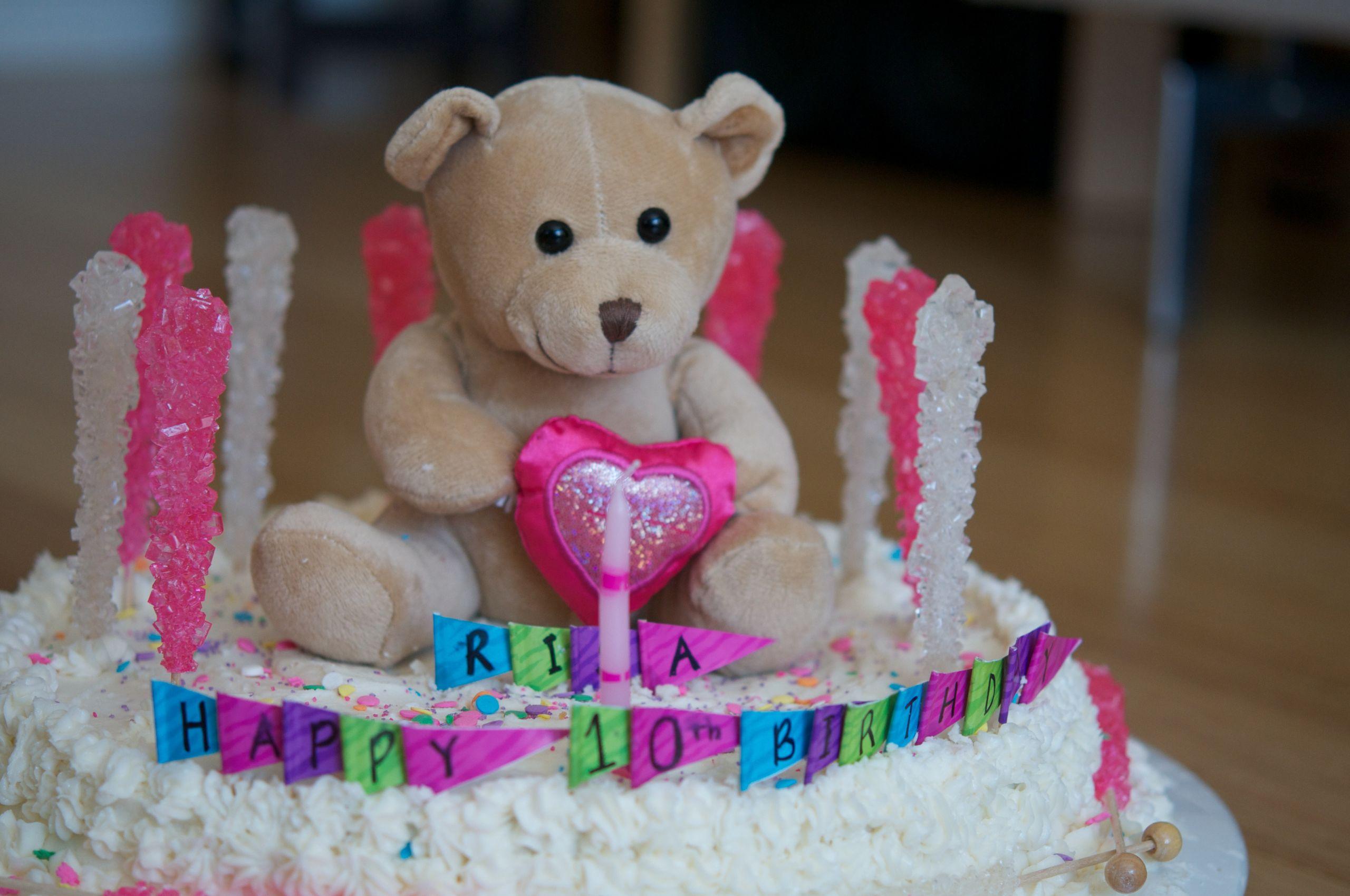 Bear Birthday Cake  Build A Bear Birthday Party Cake Teddy Bear Cake