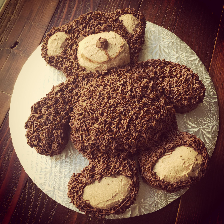 Bear Birthday Cake  Kids' Birthday Cakes – Whole Cakes