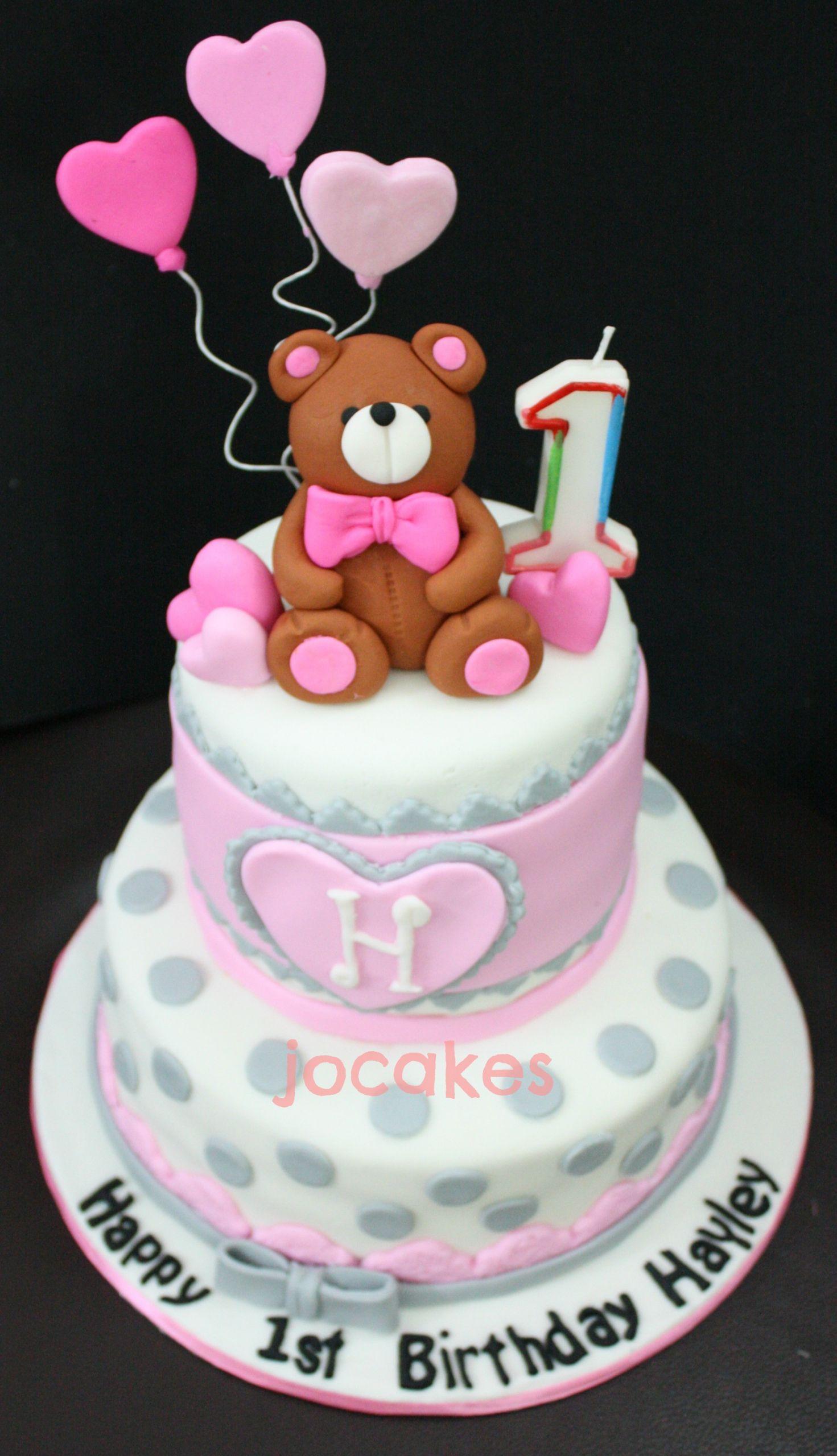 Bear Birthday Cake  teddy bear cake