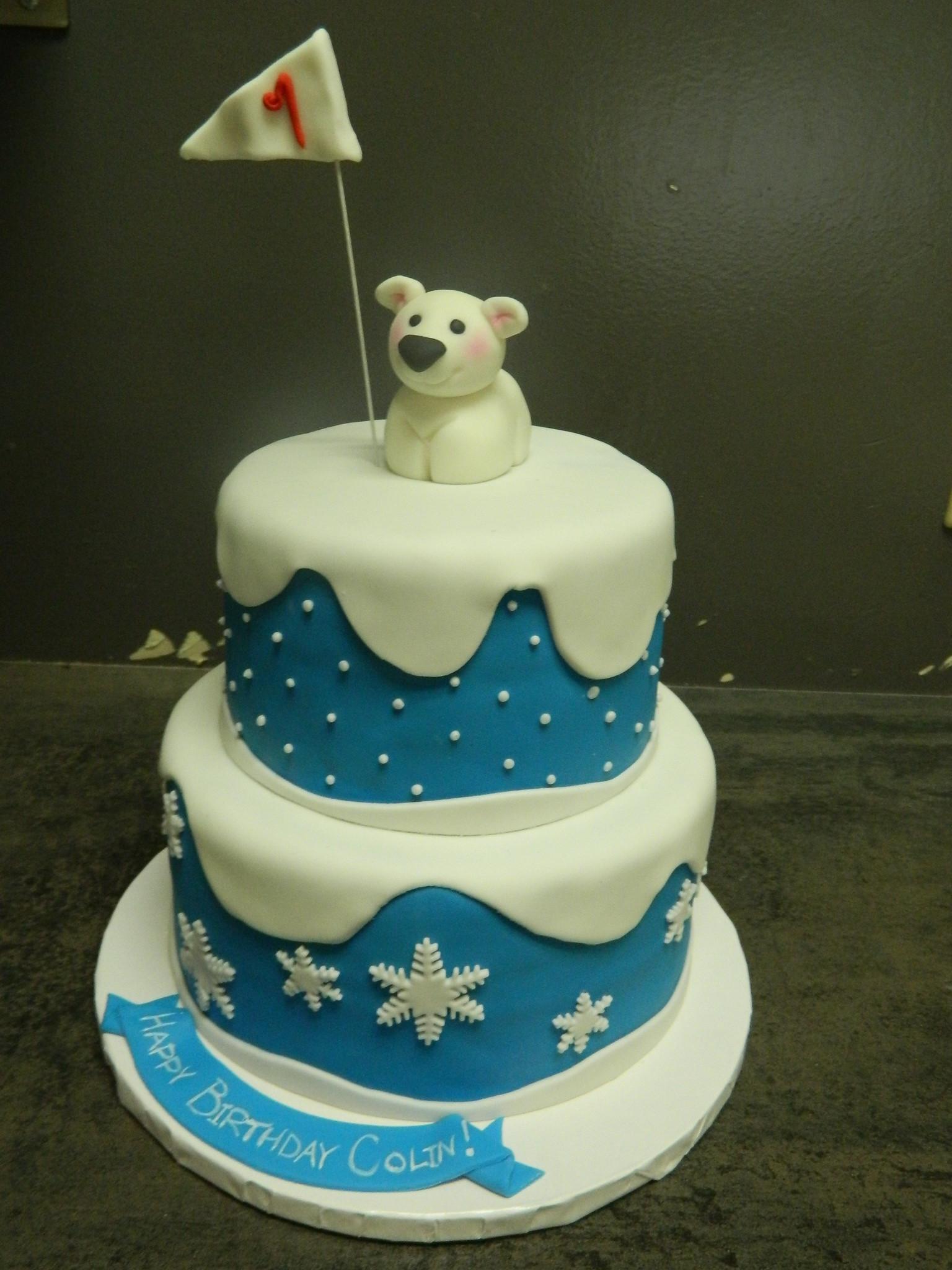 Bear Birthday Cake  Custom Cakes Hey Cupcake London tario