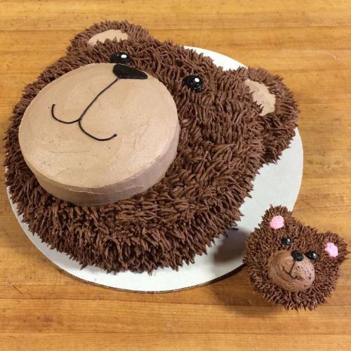 Bear Birthday Cake  Happy Birthday Cake For Son Stunning Cakes Ideas