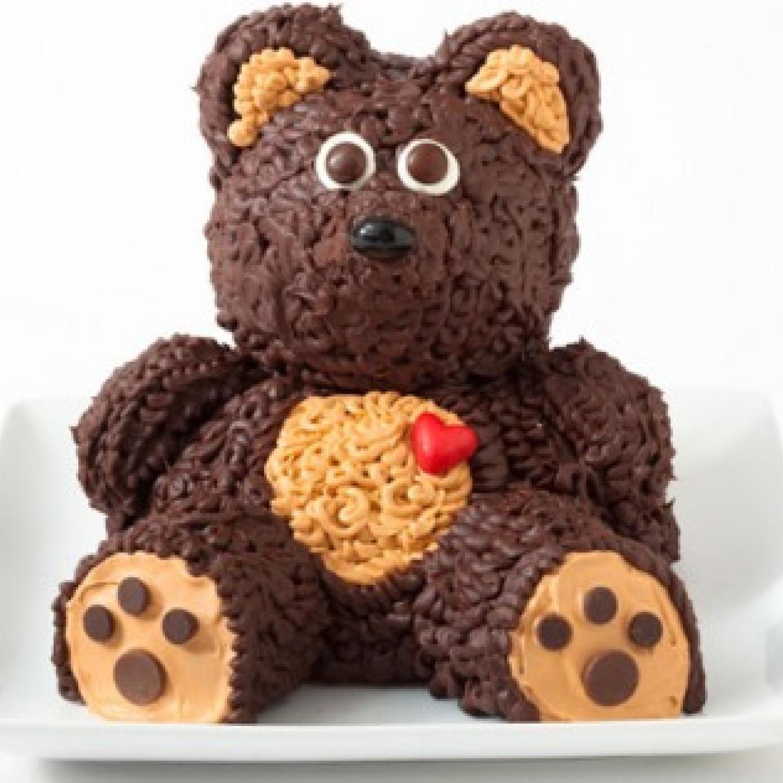 Bear Birthday Cake  Teddy Bear Birthday Cake Design
