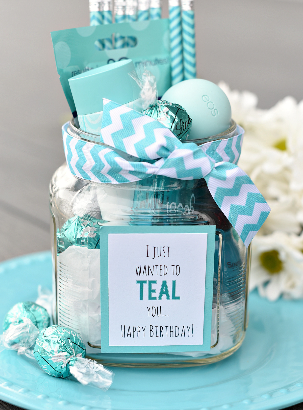 Best Friend Birthday Gift Ideas  Teal Birthday Gift Idea for Friends – Fun Squared