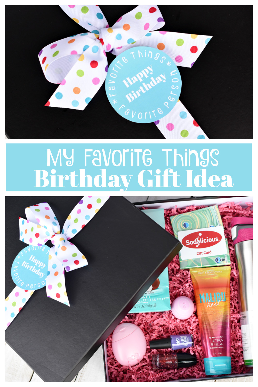 Best Friend Birthday Gift Ideas  My Favorite Things Birthday Gifts for Your Best Friend