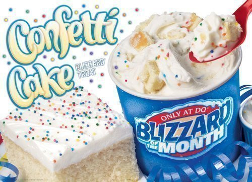 Birthday Cake Blizzard  Petition · Make the Confetti Cake Blizzard Permanent