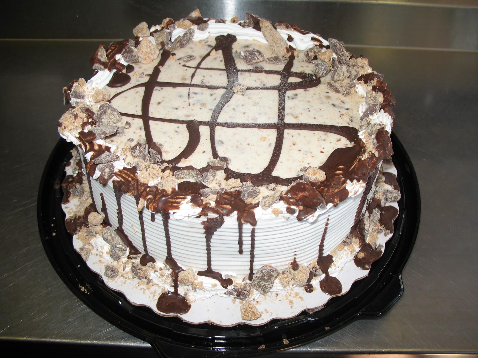 Birthday Cake Blizzard  Ice cream cake Cooking