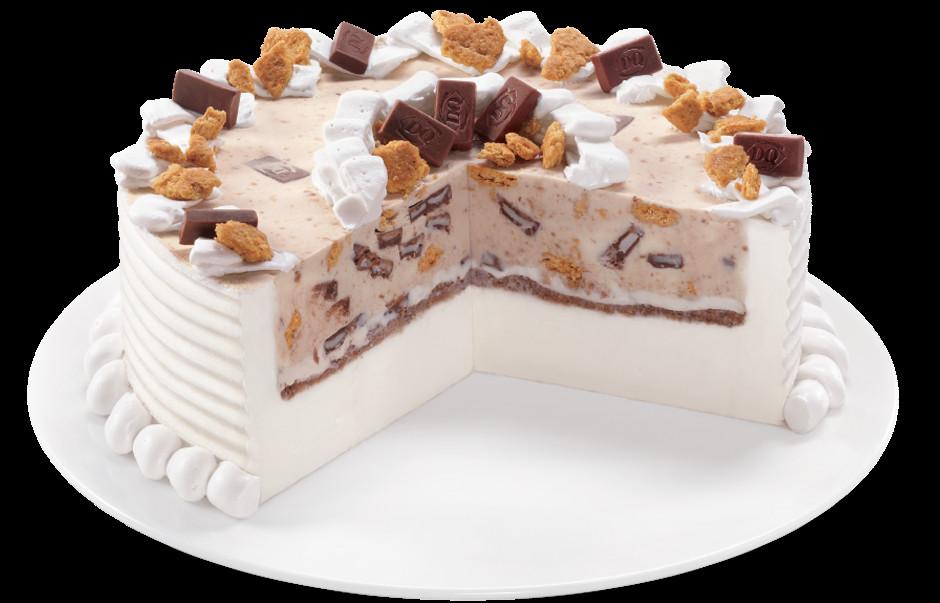 Birthday Cake Blizzard  Who says you need a birthday to enjoy a Blizzard cake