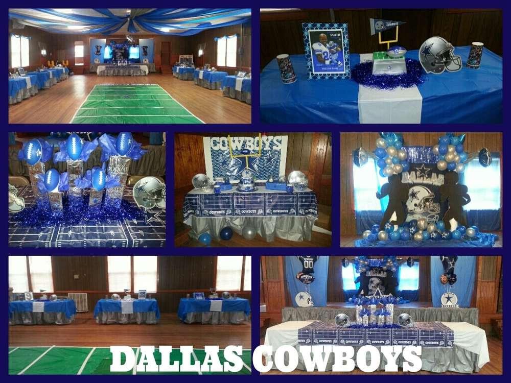 Birthday Party Ideas Dallas  Dallas Cowboys Football Birthday Party Ideas