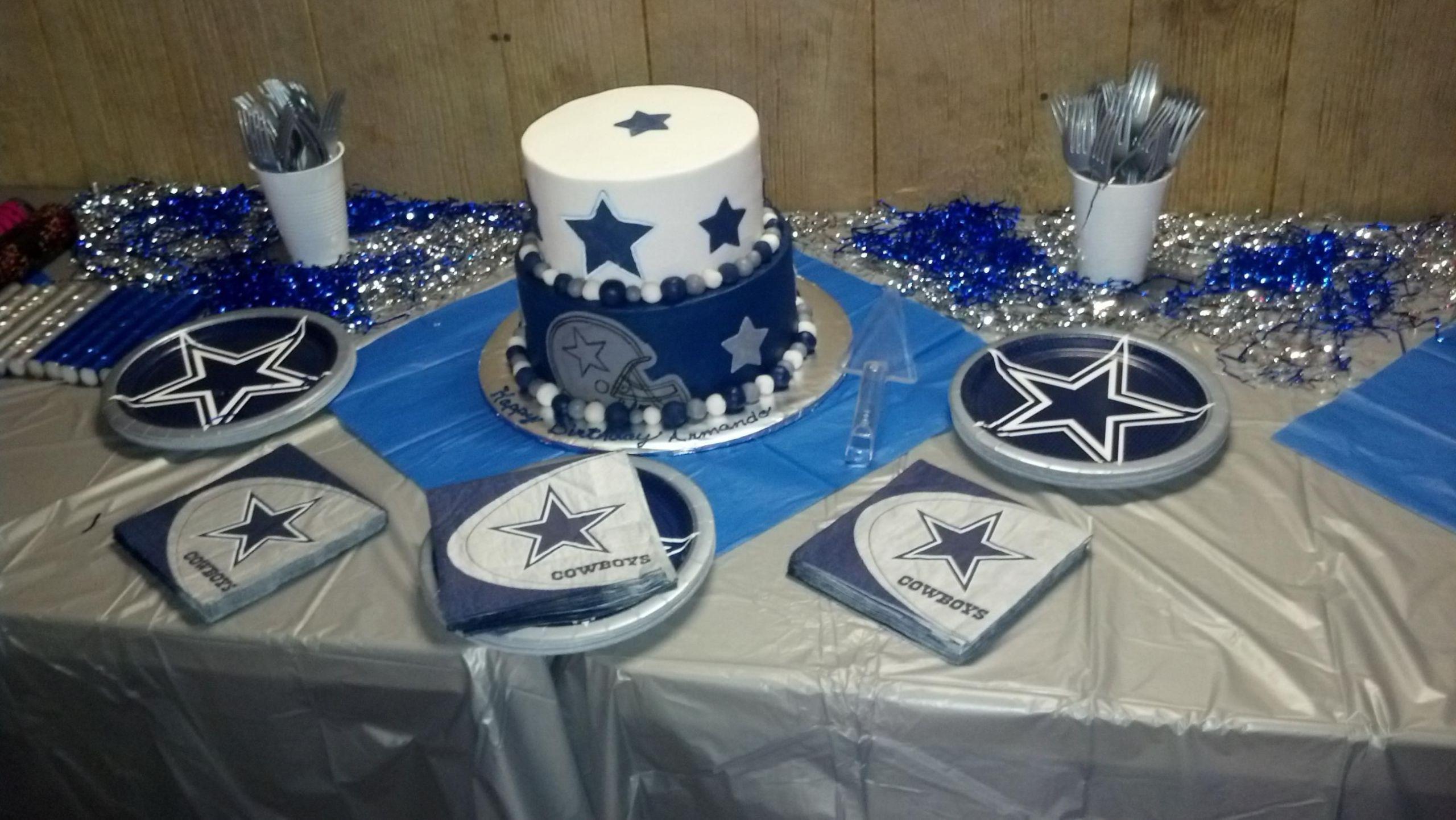 Birthday Party Ideas Dallas  Dallas cowboys theme Party ideas Pinterest