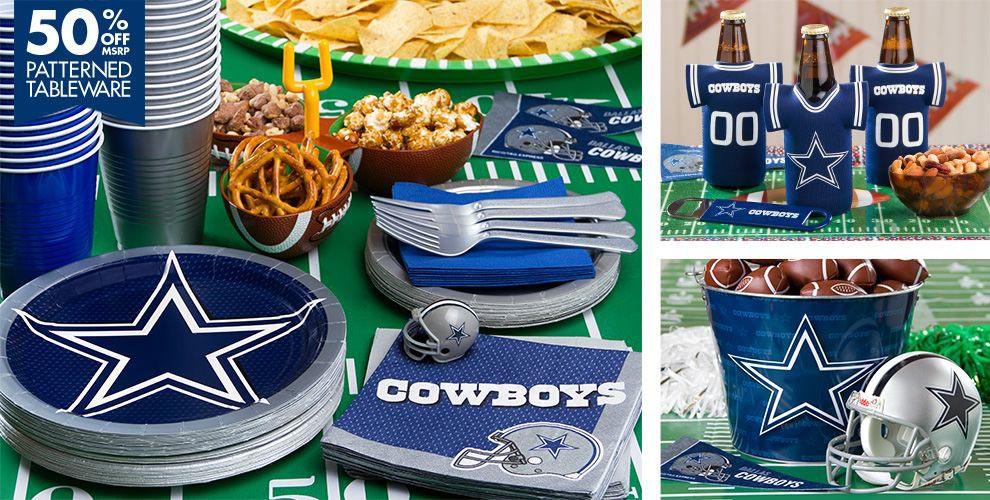 Birthday Party Ideas Dallas  Dallas Cowboys Birthday Party Ideas