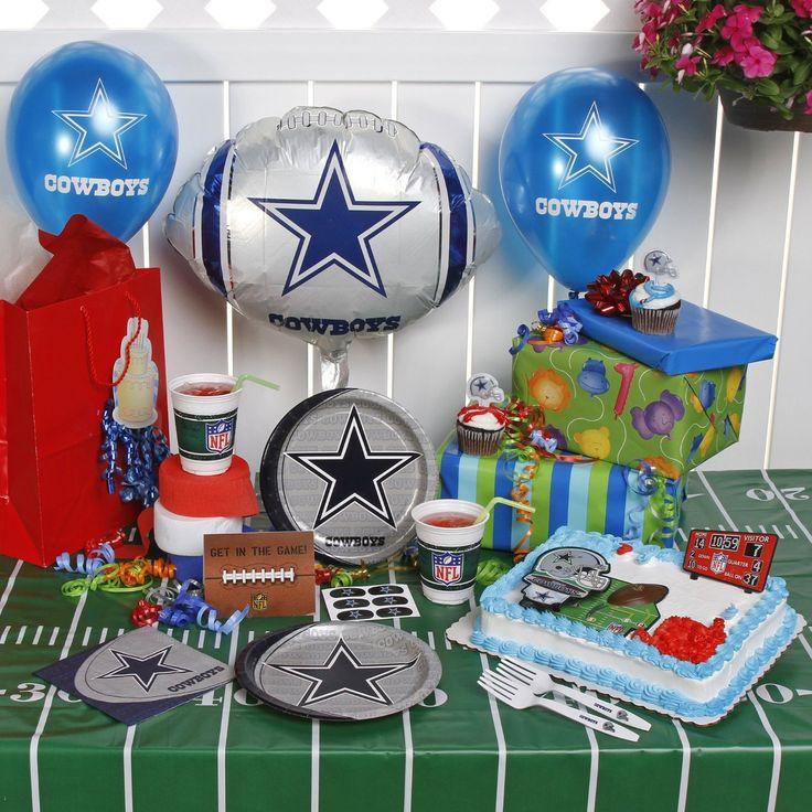 Birthday Party Ideas Dallas  Best 23 Dallas Cowboys Birthday Decorations Birthday