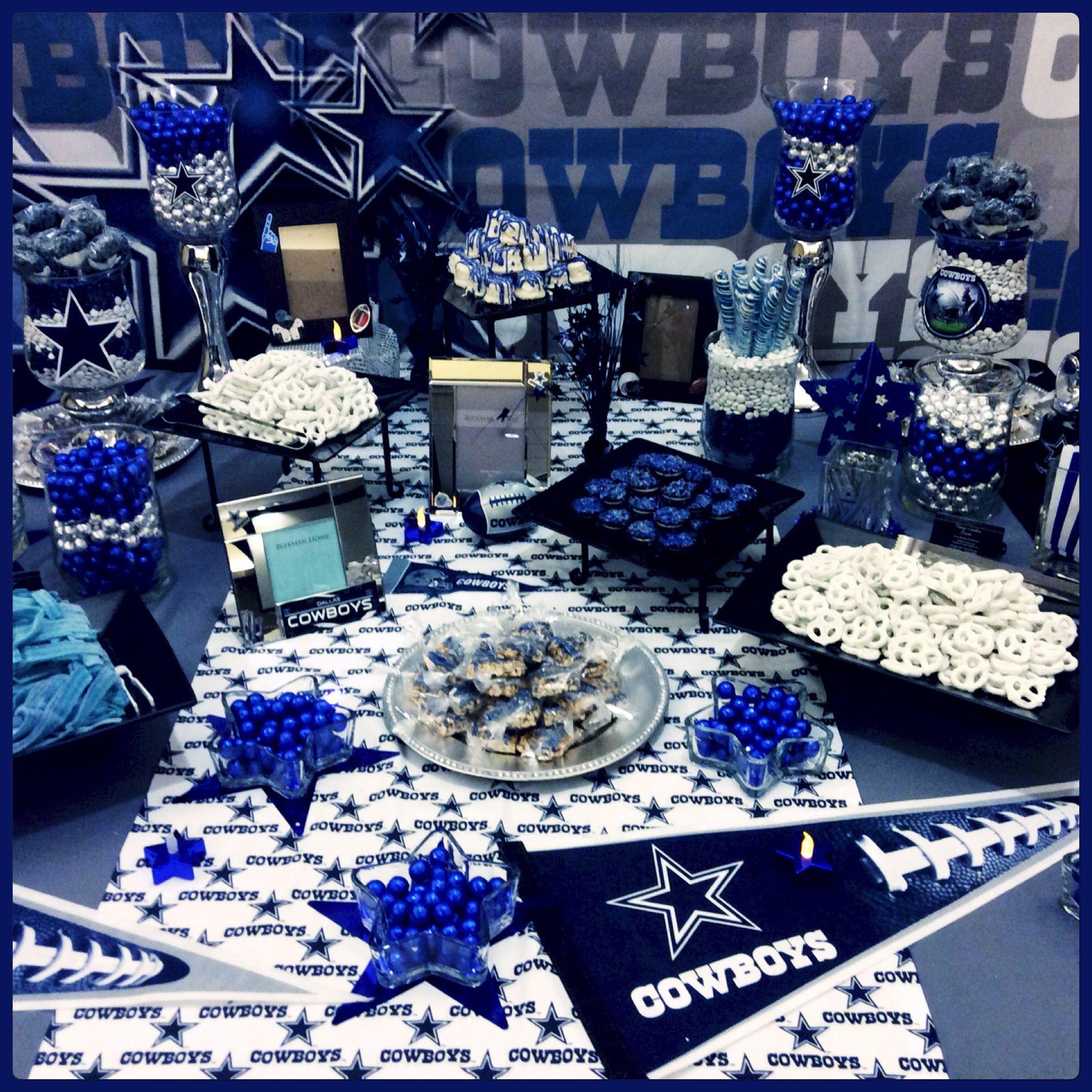 Birthday Party Ideas Dallas  Pin by Laura Jojola on Dallas Cowboys Lifestyle