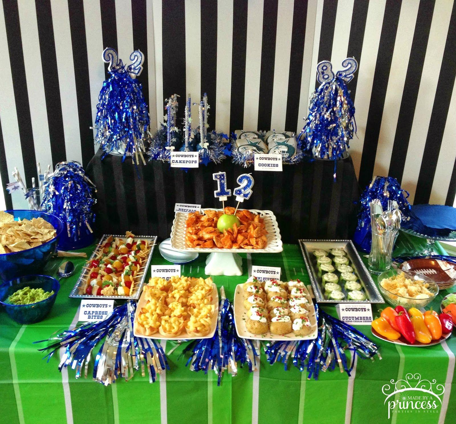 Birthday Party Ideas Dallas  dallas cowboys party decor Google Search