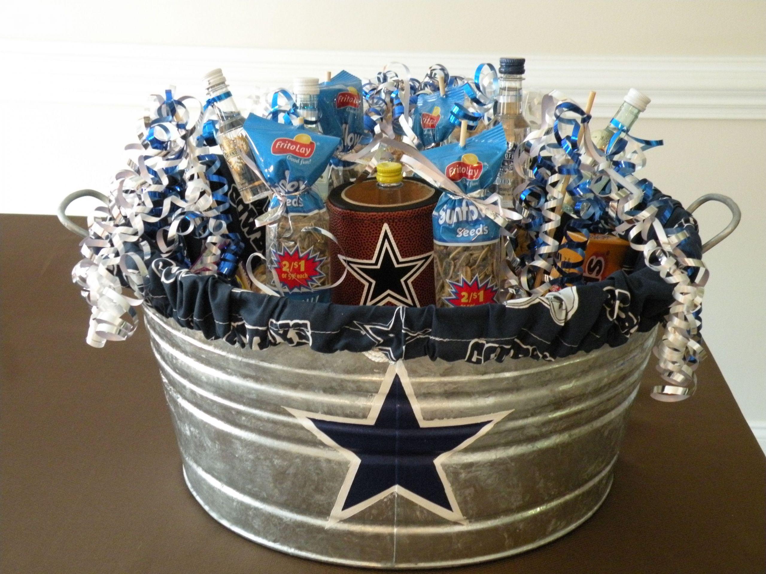 Birthday Party Ideas Dallas  Husband s Dallas Cowboys birthday t filled with big boy
