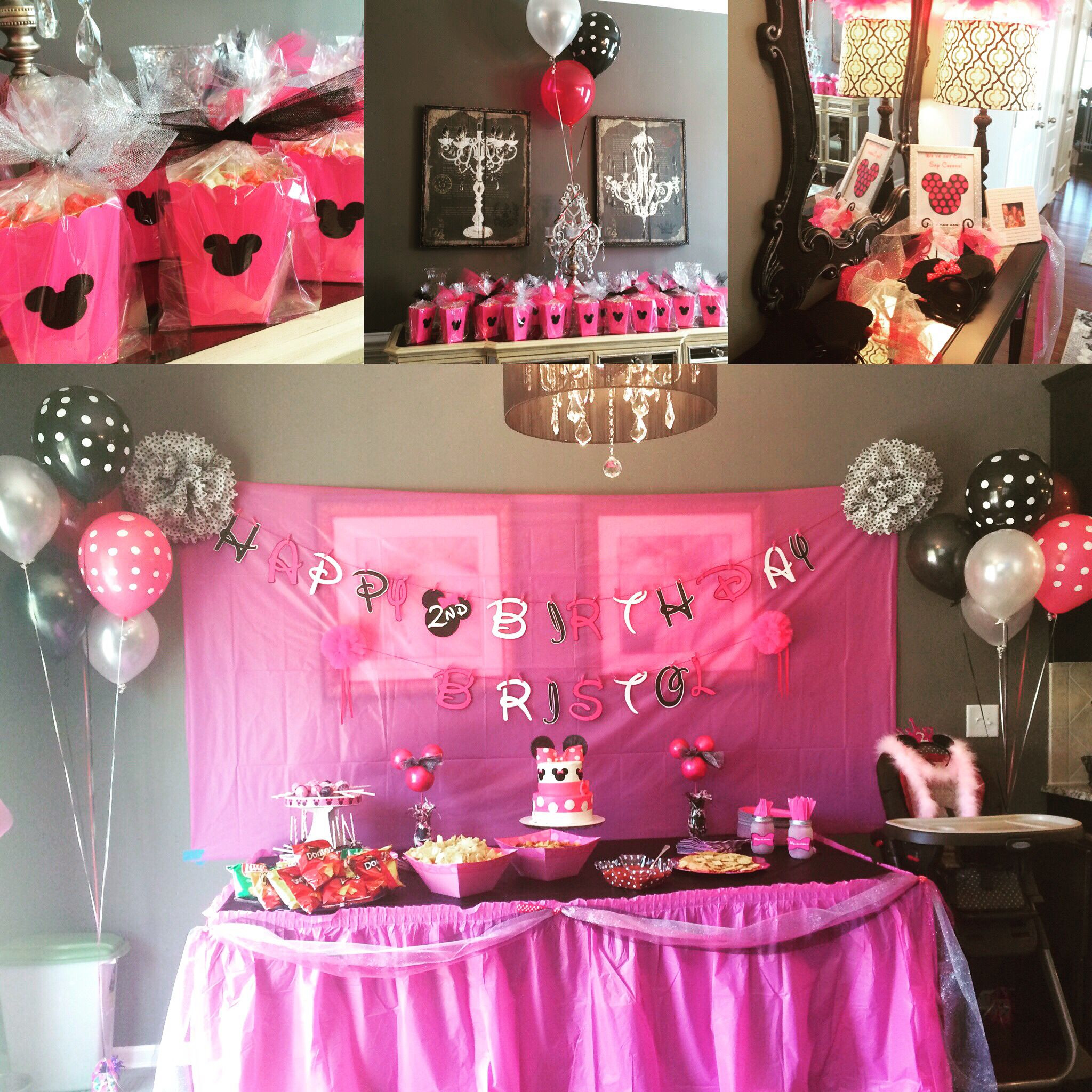 Birthday Party Ideas For 2 Year Girl  Our Minnie Mouse Birthday for our sweet 2 year old