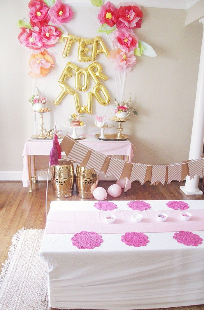 Birthday Party Ideas For 2 Year Girl  Tea for 2 Birthday Party Ideas let s party