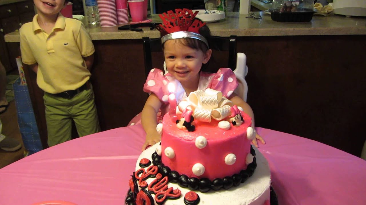Birthday Party Ideas For 2 Year Girl  2013 0714 Lily s Minnie Mouse Birthday Party 2 years old