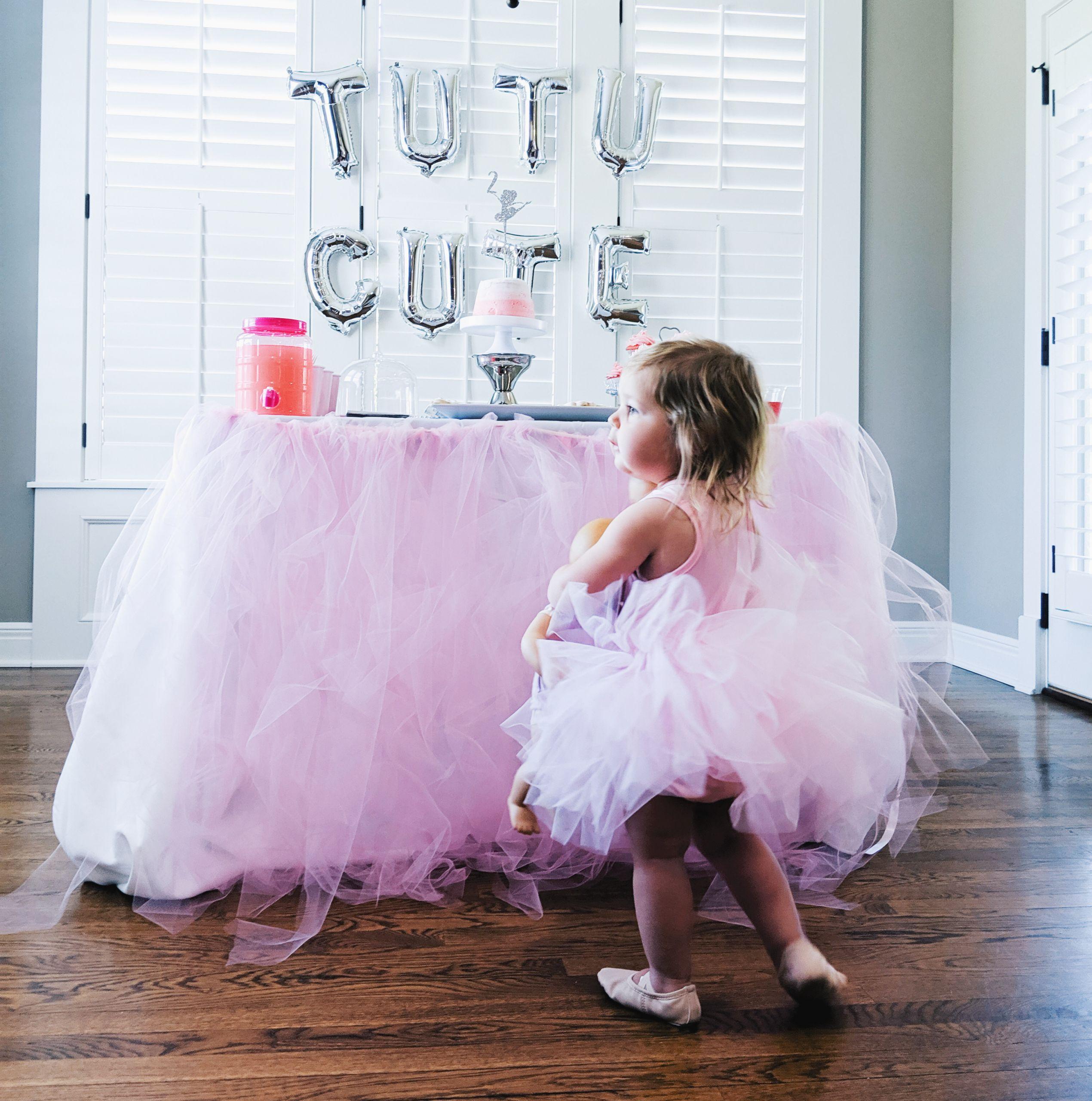 Birthday Party Ideas For 2 Year Girl  Tutu Cute Birthday Party 2nd Birthday Party Ideas