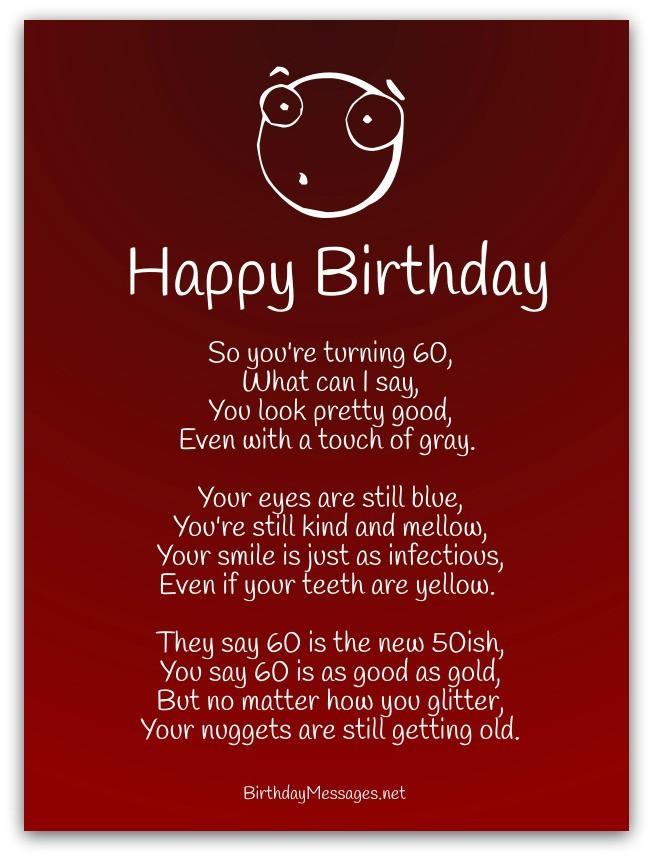 Birthday Poem Funny  Funny Birthday Poems Page 2