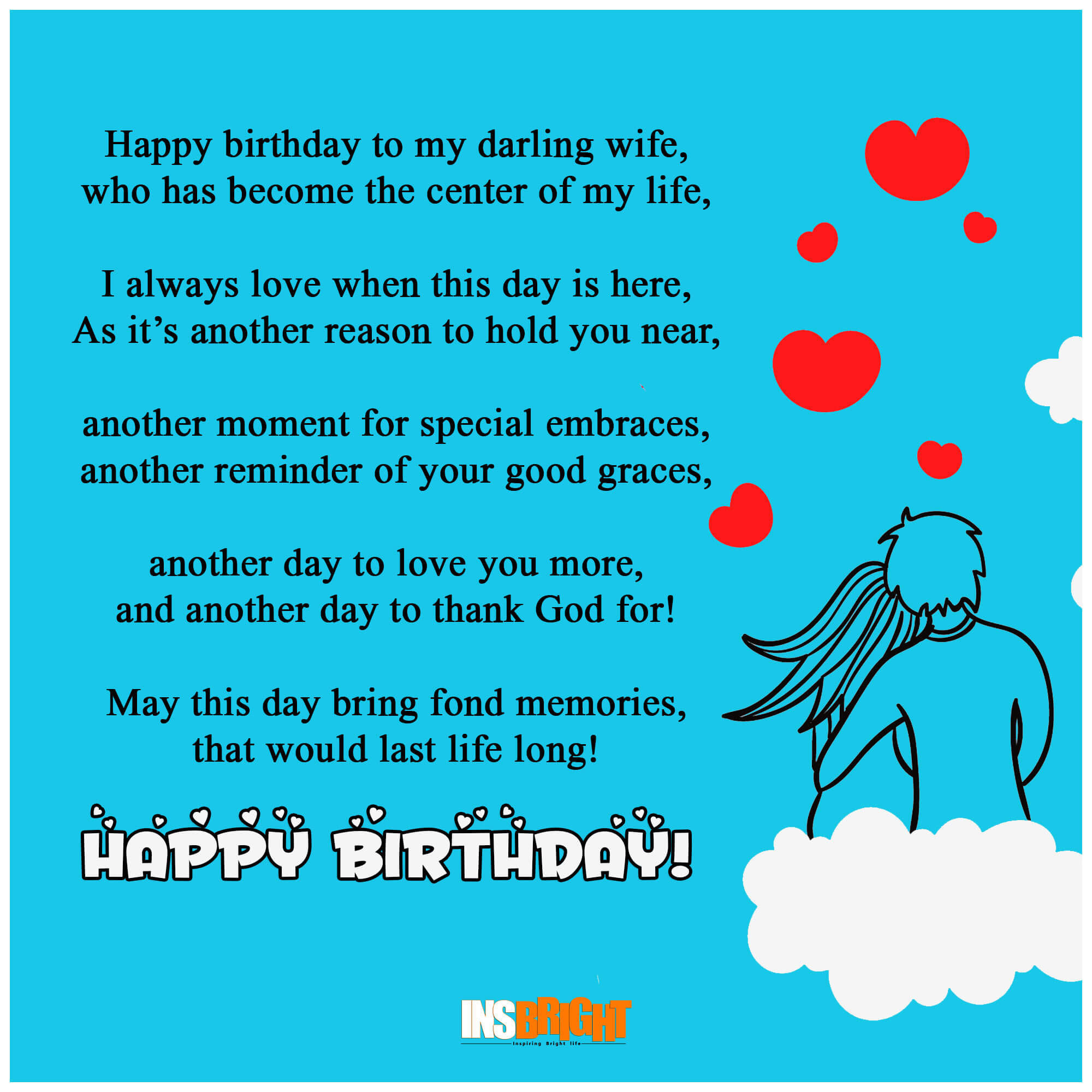 Birthday Poem Funny  10 Romantic Happy Birthday Poems For Wife With Love From