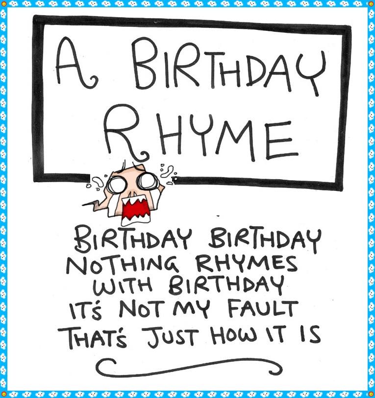 Birthday Poem Funny  Funny Happy Birthday Poems for Husband