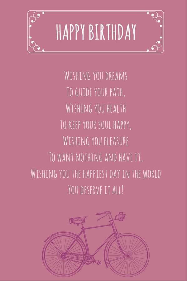 Birthday Poem Funny  52 Best Happy Birthday Poems My Happy Birthday Wishes
