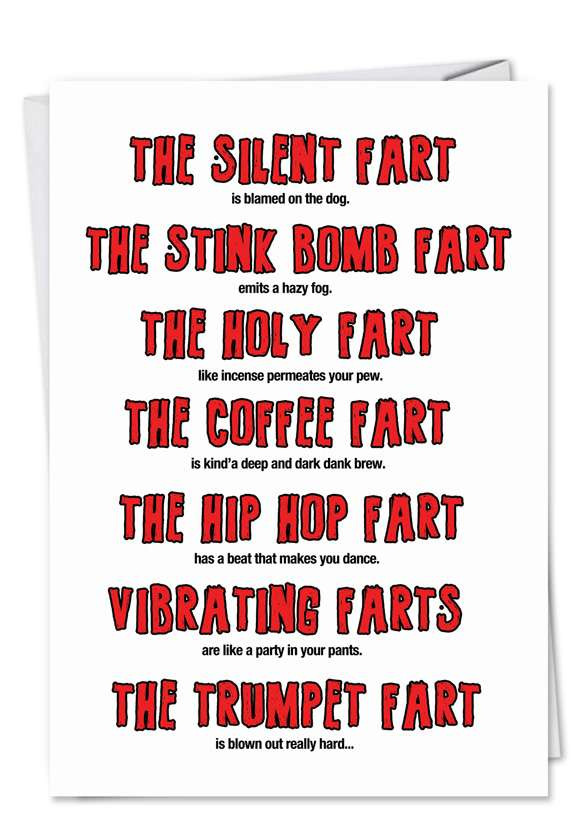 Birthday Poem Funny  Fart Poem Aging Dirty Birthday Card – NobleWorks Cards