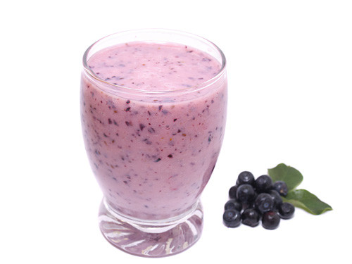 Blueberry Smoothies With Milk  Frozen Blueberry Smoothie Recipe Delicious Smoothie with