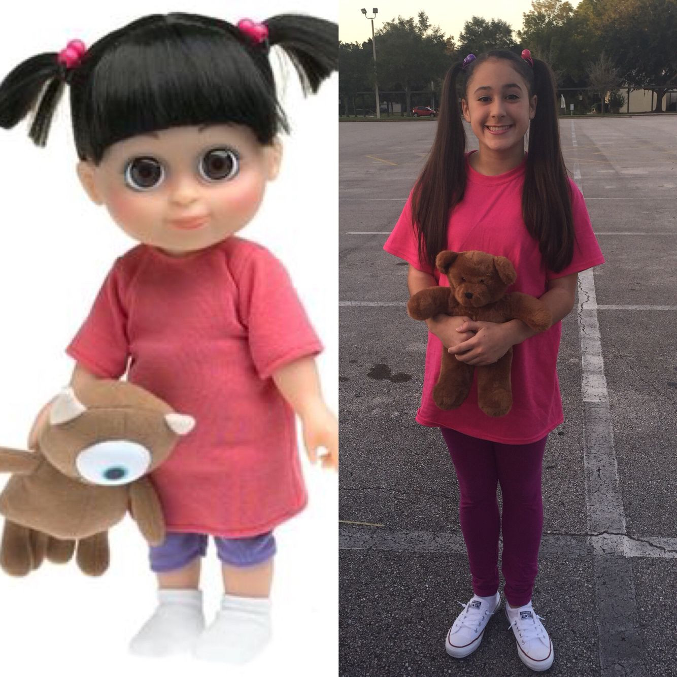 """Boo Costume DIY  Last minute costume for """"Animation"""" themed school dance"""