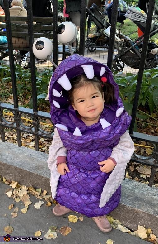 Boo Costume DIY  Monsters Inc Boo Costume
