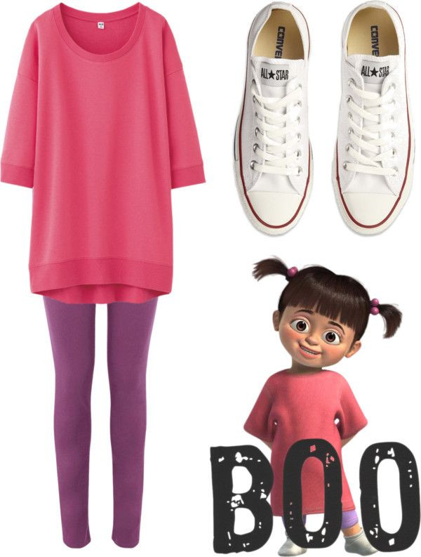 Boo Costume DIY  19 best images about Boo Monsters Inc Costume on Pinterest