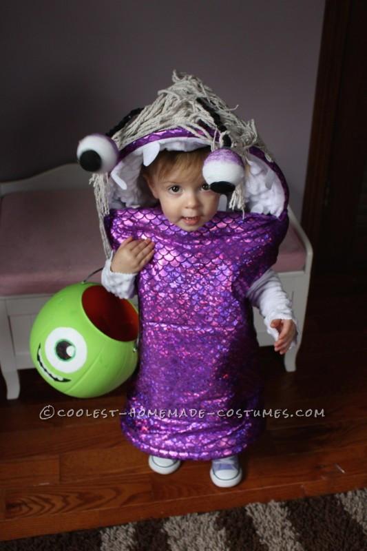 Boo Costume DIY  Adorable Monsters Inc Boo Costume Adafruit Industries