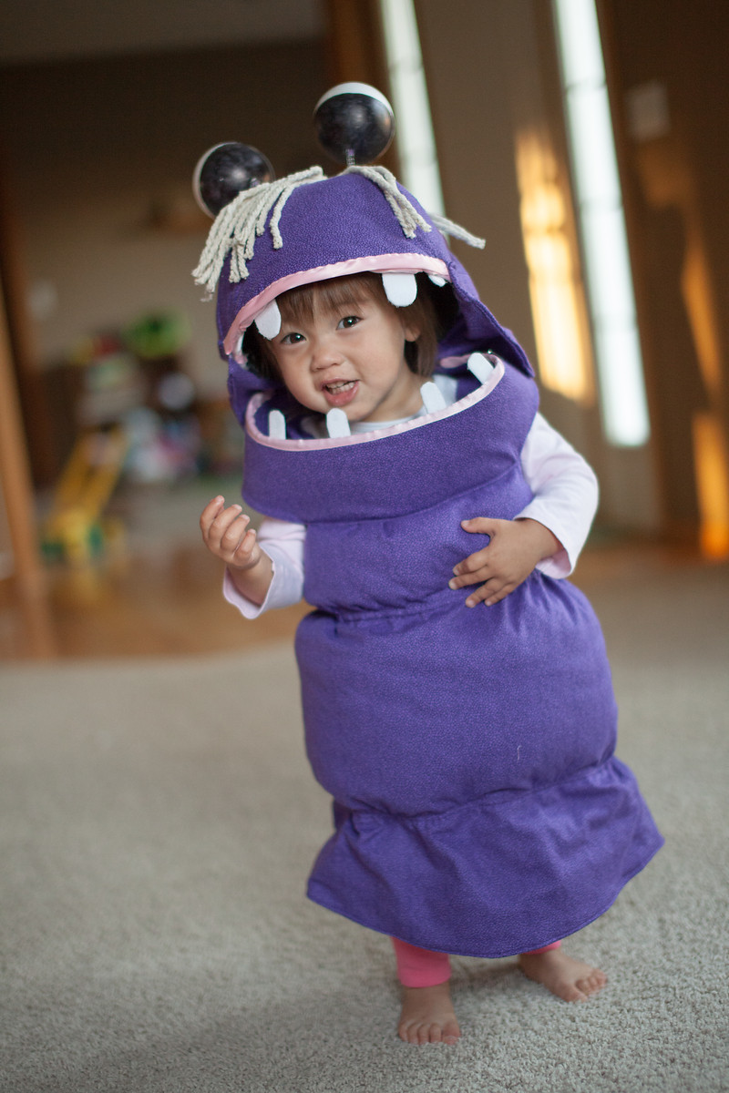 Boo Costume DIY  Boo from Monster s Inc My Daughter s Halloween Costume