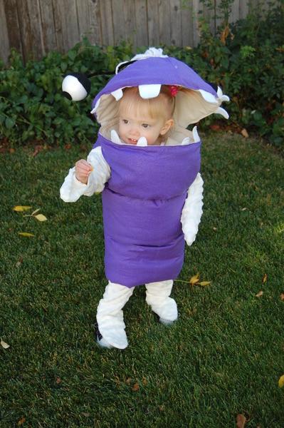 Boo Costume DIY  6 Adorable Handmade Pixar Costumes Dollar Store Crafts