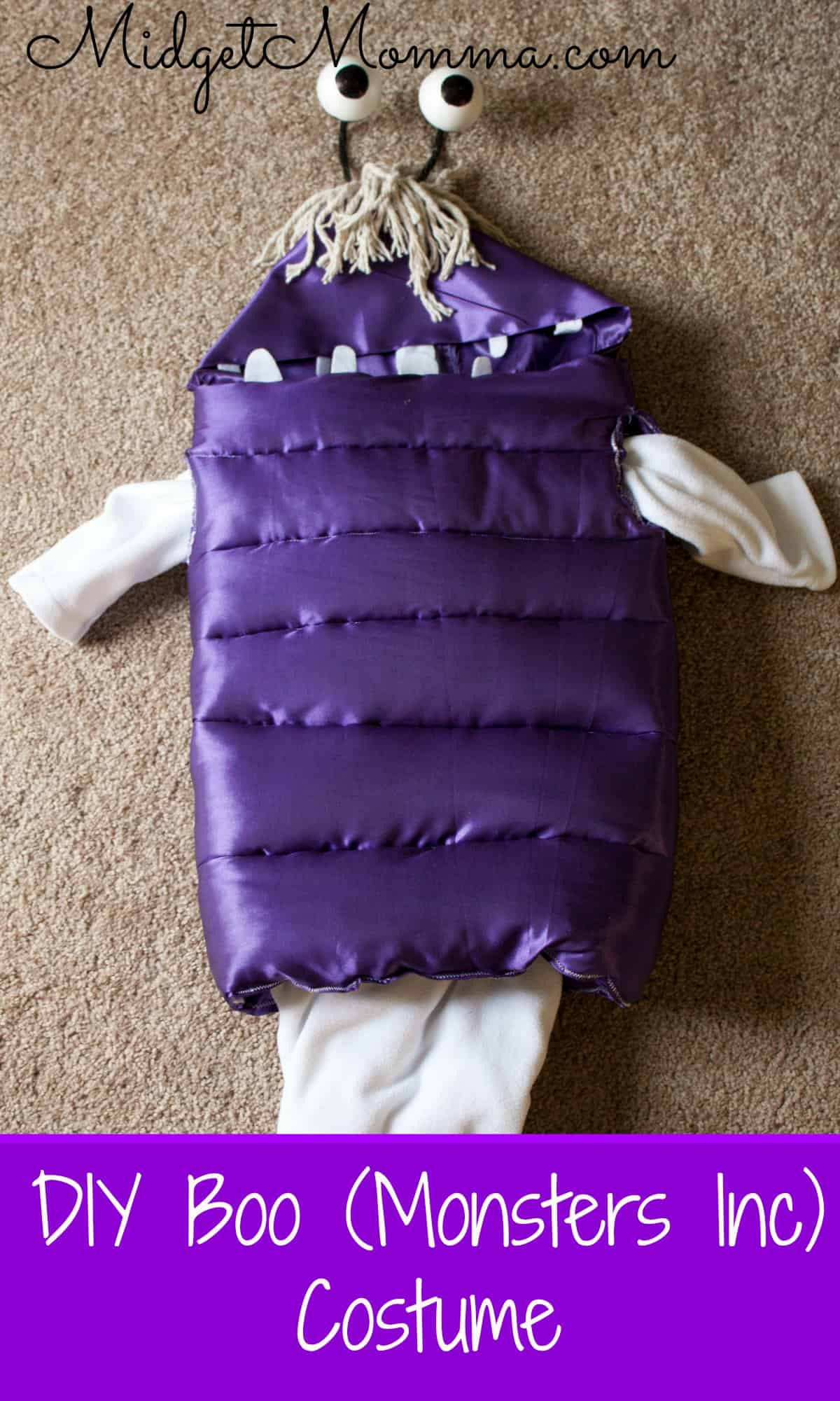 Boo Costume DIY  DIY Boo From Monster Inc Costume