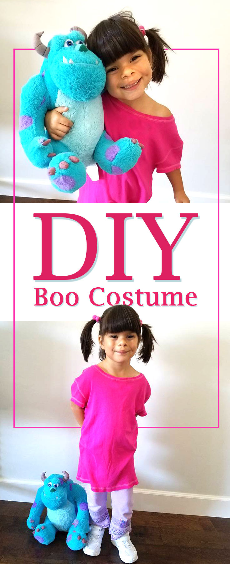 Boo Costume DIY  Boo costume Easy DIY No Sew Boo Costume for this Halloween