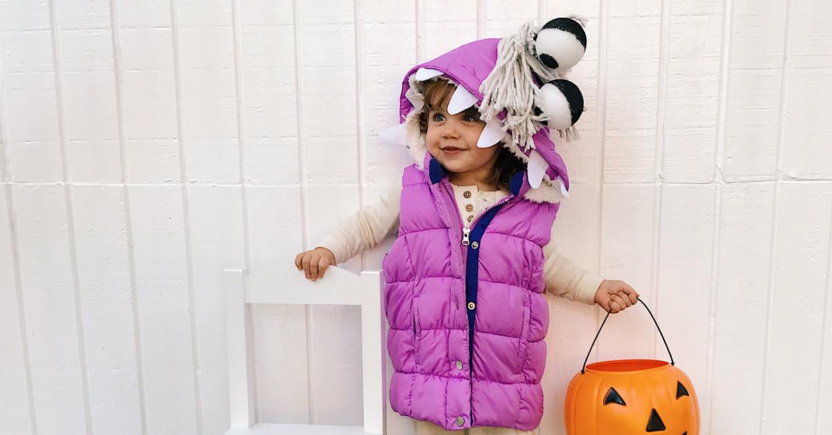 Boo Costume DIY  Disney Halloween Crafts and Recipes