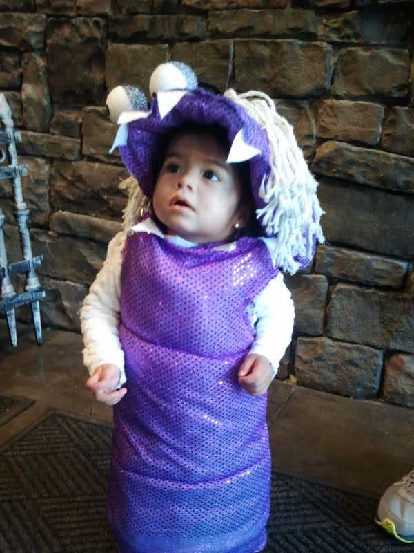 Boo Costume DIY  Our Life As The Hodges How To Make A Monsters Inc Boo