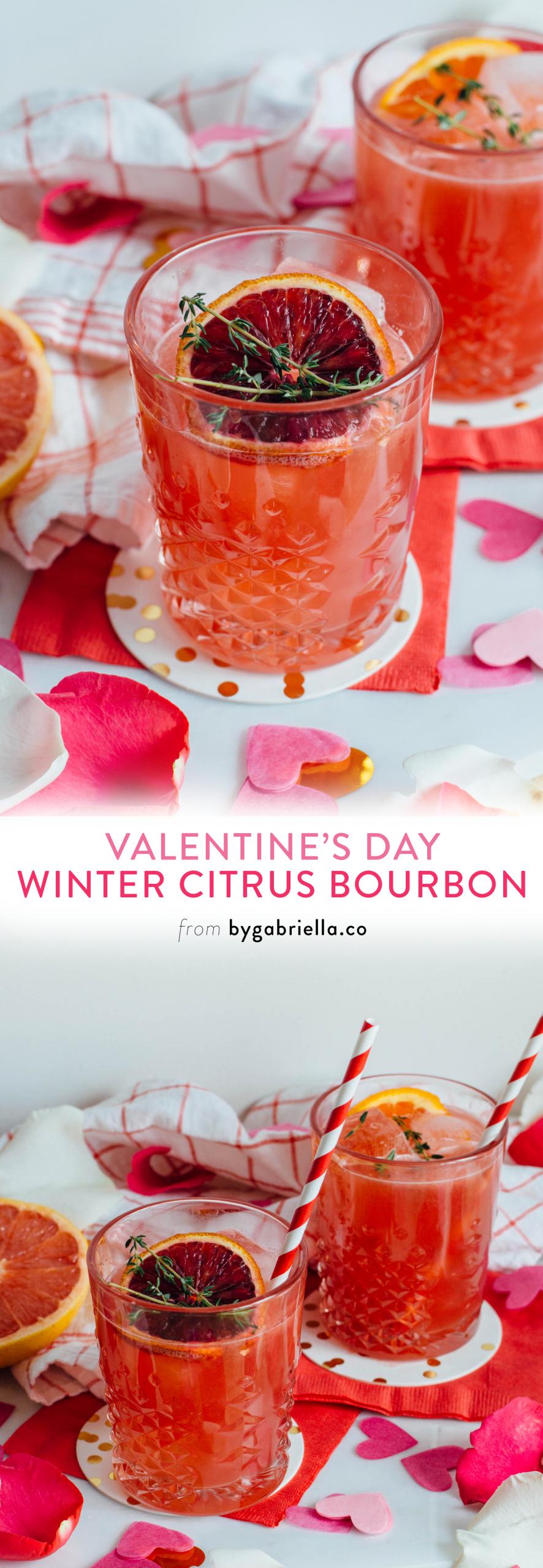 Bourbon Drinks For Winter  Winter Citrus Bourbon Cocktail Recipe