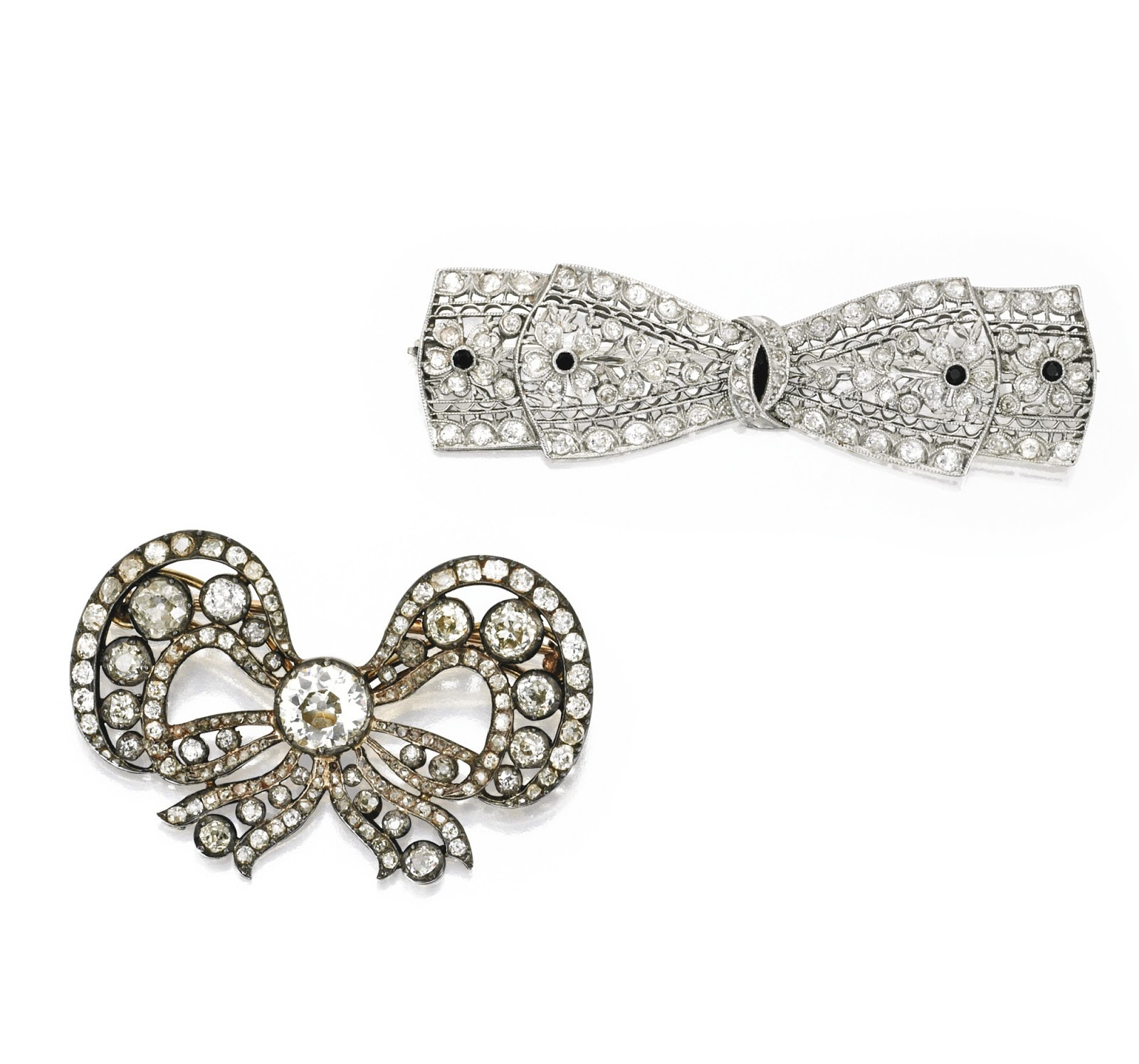 Bow Brooches  Marie Poutine s Jewels & Royals Bow Brooches