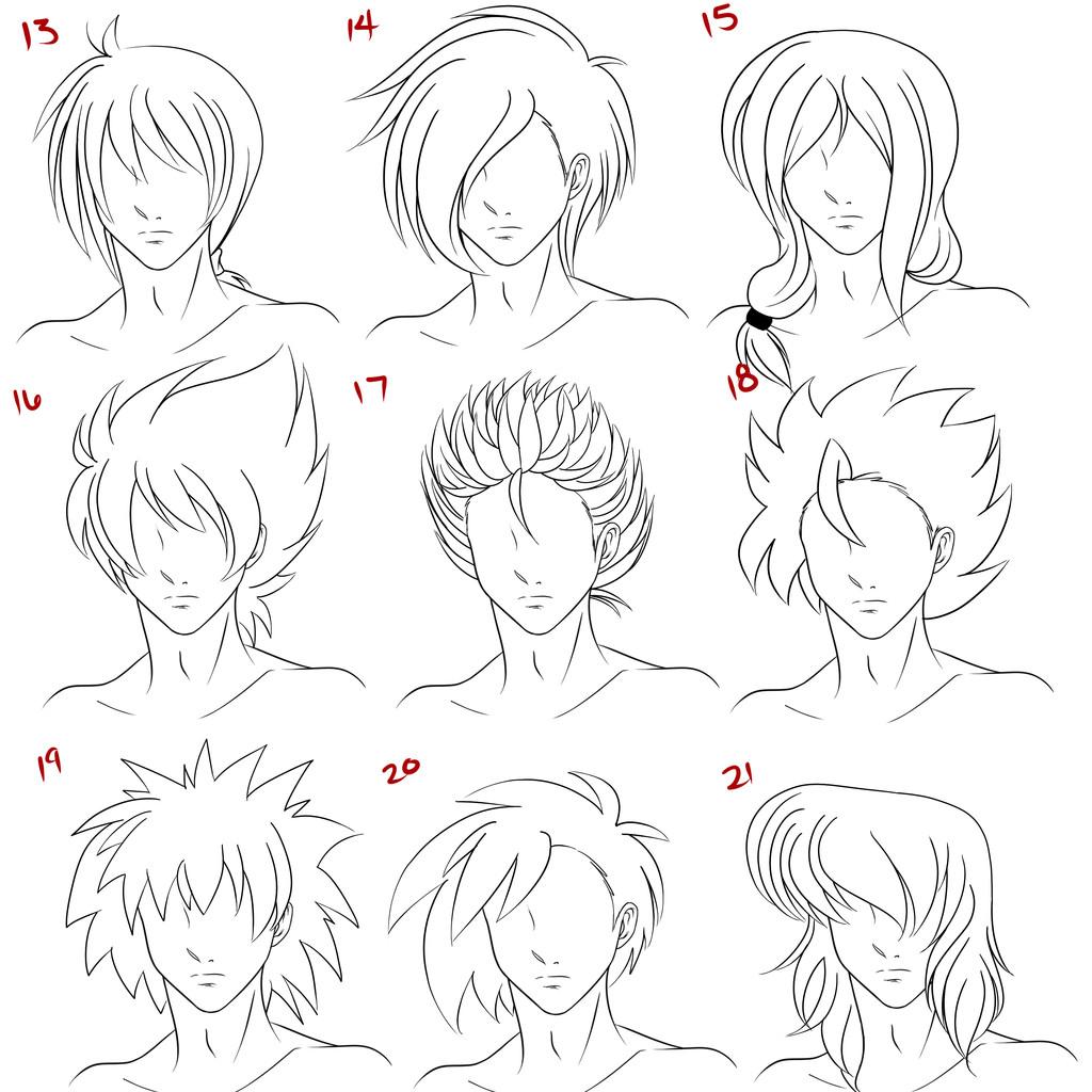 Boy Hairstyles Anime  101 Anime Hairstyle Boys Men 2020 King Hair Styles