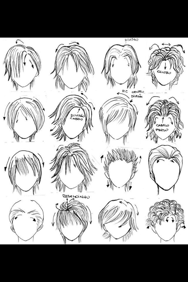 Boy Hairstyles Anime  Best Image of Anime Boy Hairstyles
