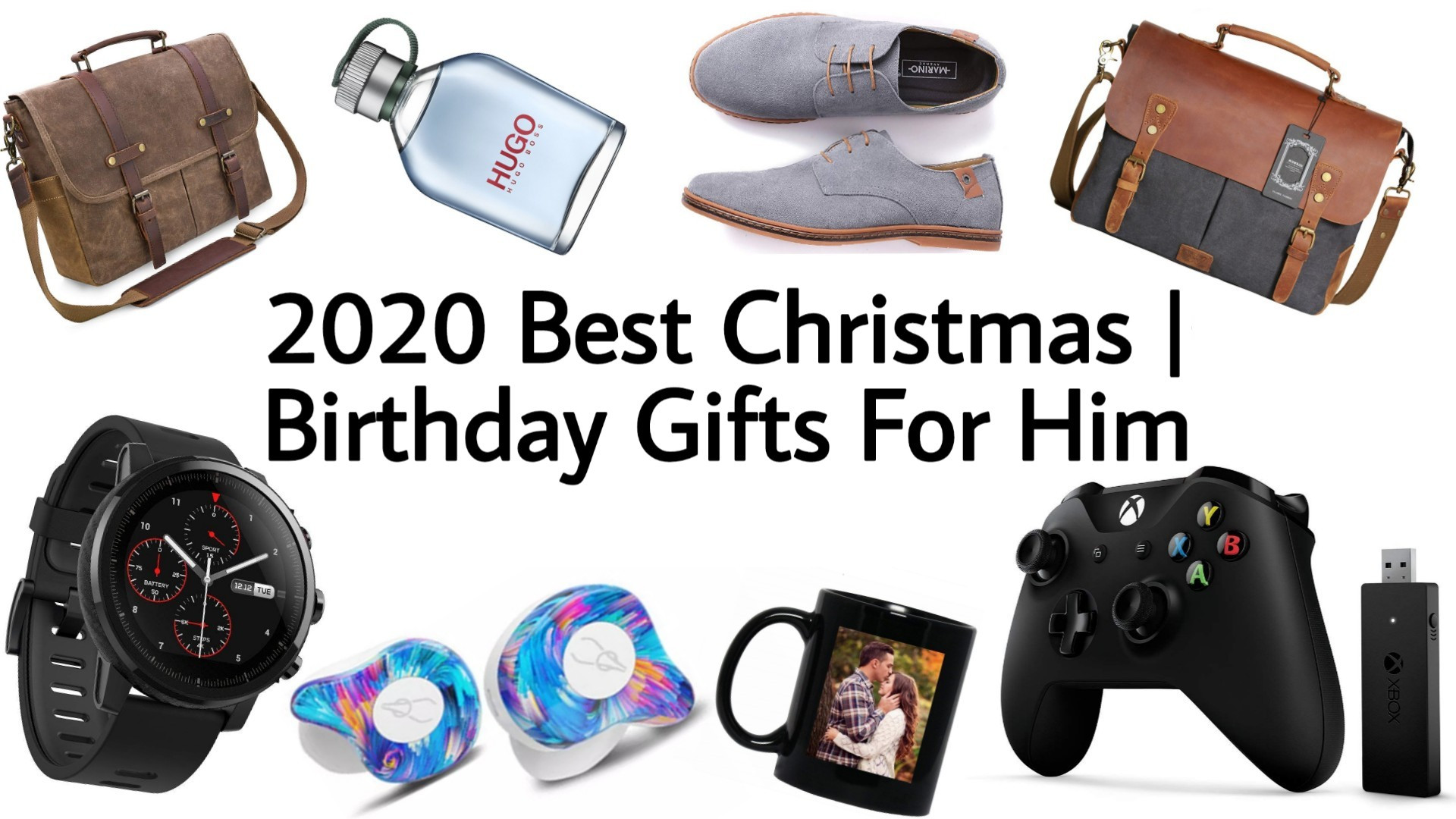 Boyfriend Christmas Gift Ideas 2020  Top Christmas Gifts for Him Boys Boyfriend Husband 2020