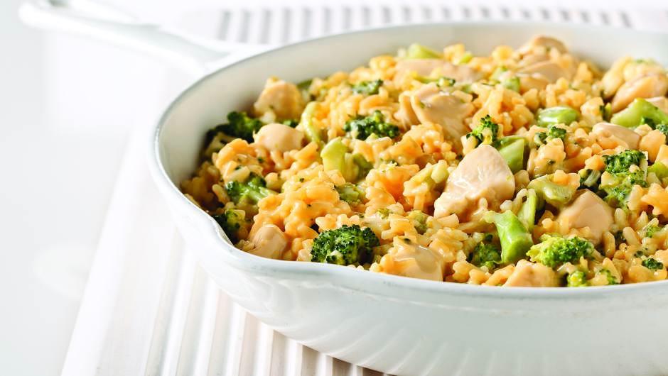 Broccoli And Velveeta Cheese  VELVEETA Cheesy Chicken & Broccoli Rice