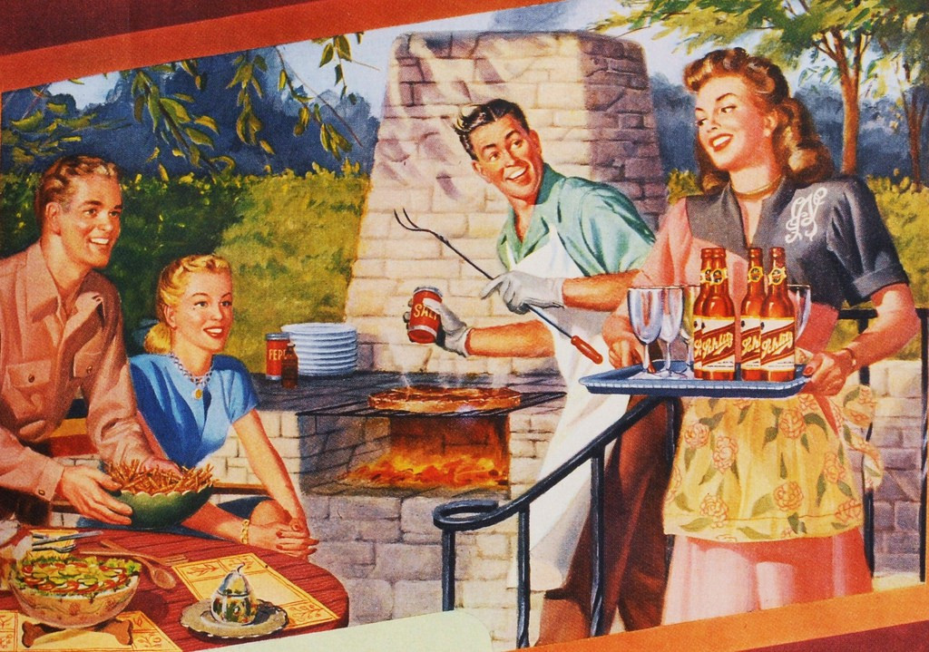 Bubba'S Backyard Bbq  You can thank American GIs for your backyard grill – Timeline