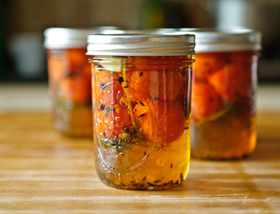 Canning Cherry Tomatoes Recipes  Healthy Green Kitchen Pickled Cherry Tomatoes