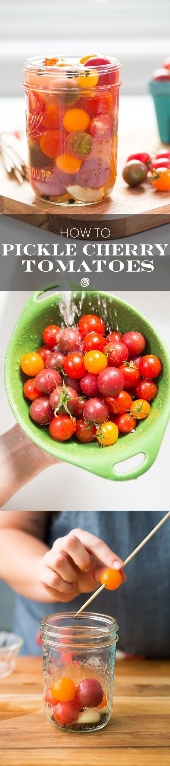 Canning Cherry Tomatoes Recipes  How To Pickle Cherry Tomatoes Recipe