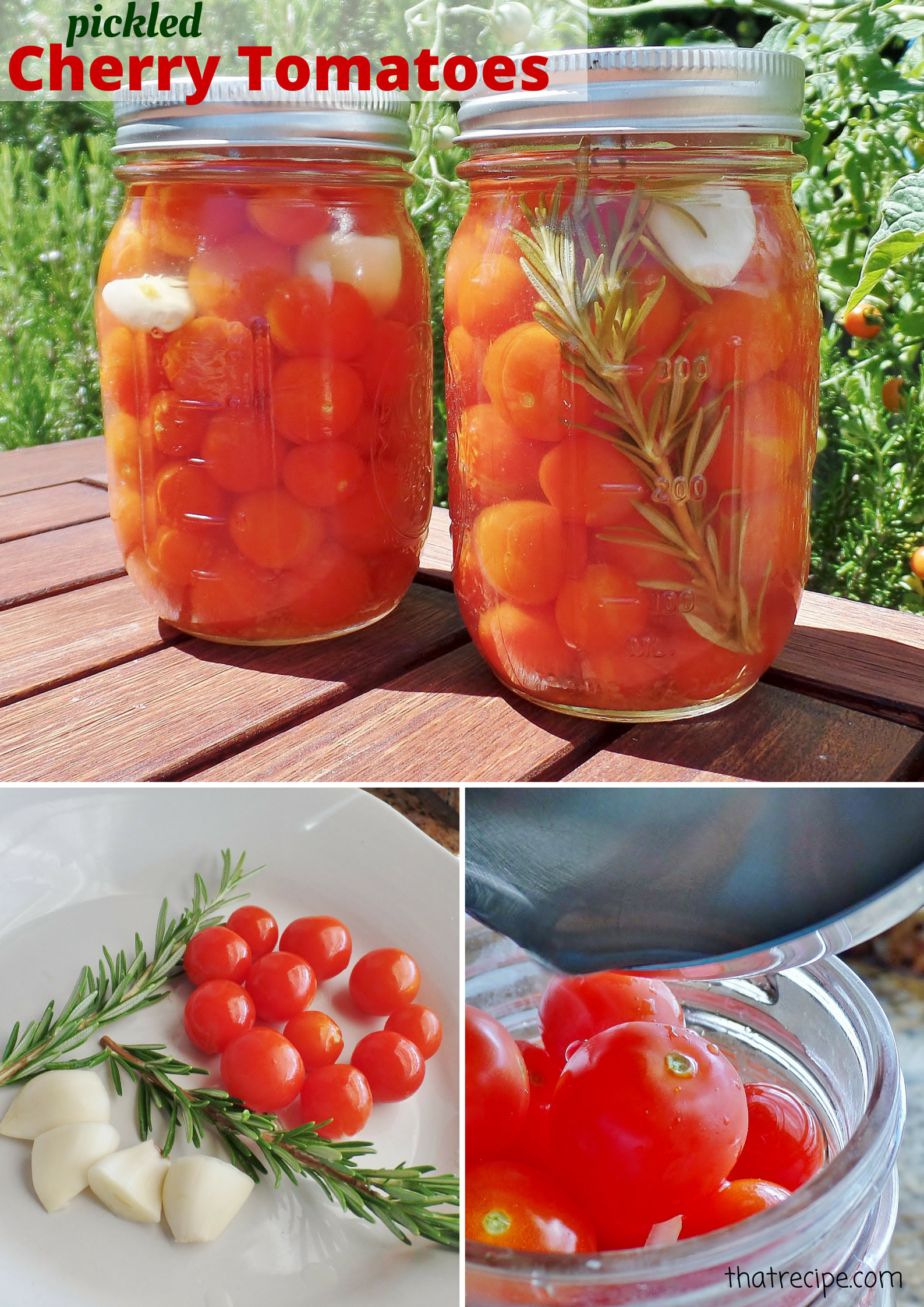 Canning Cherry Tomatoes Recipes  Pickled Cherry Tomatoes Recipe