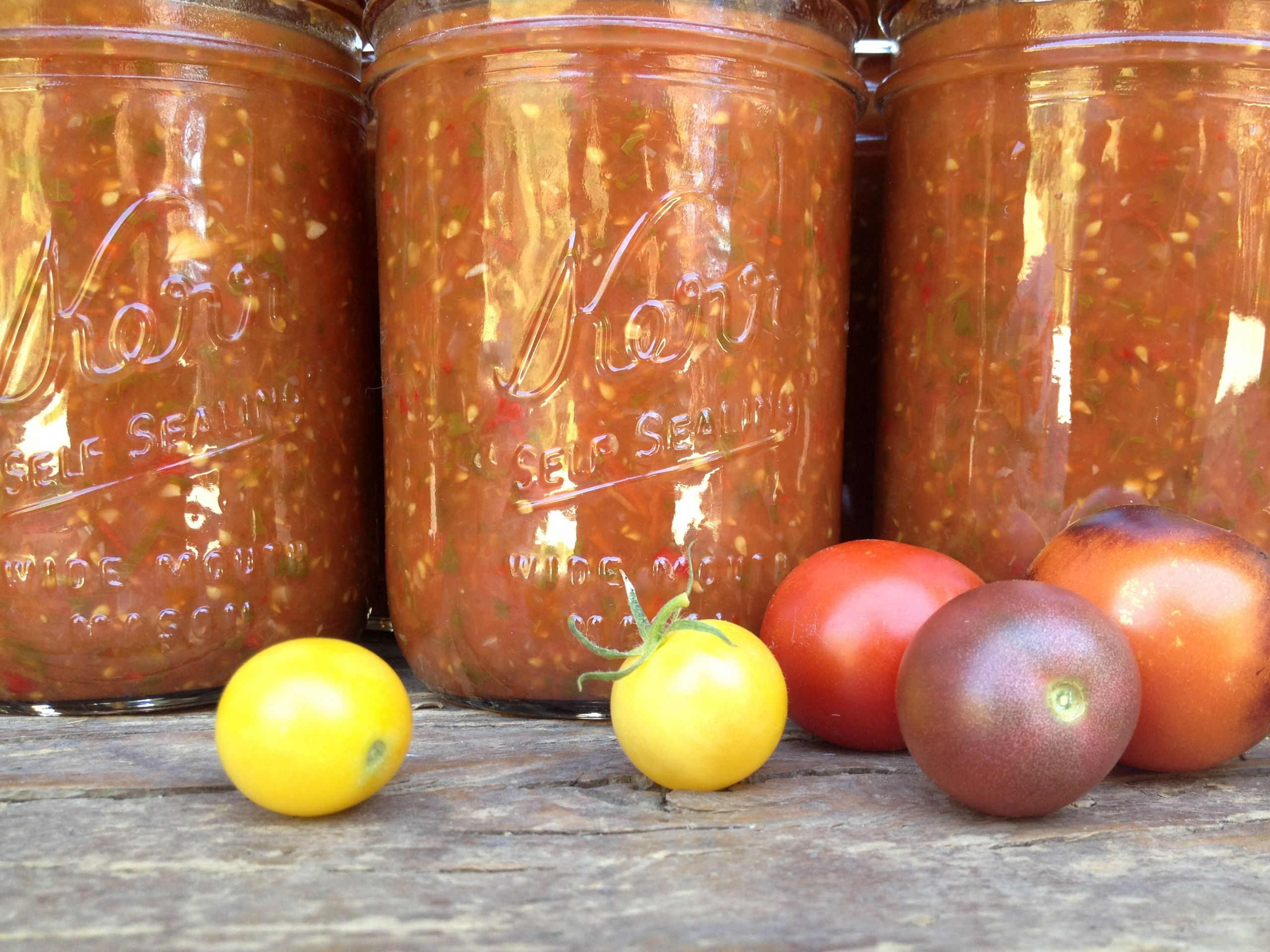 Canning Cherry Tomatoes Recipes  Lazy Cherry Tomato Salsa