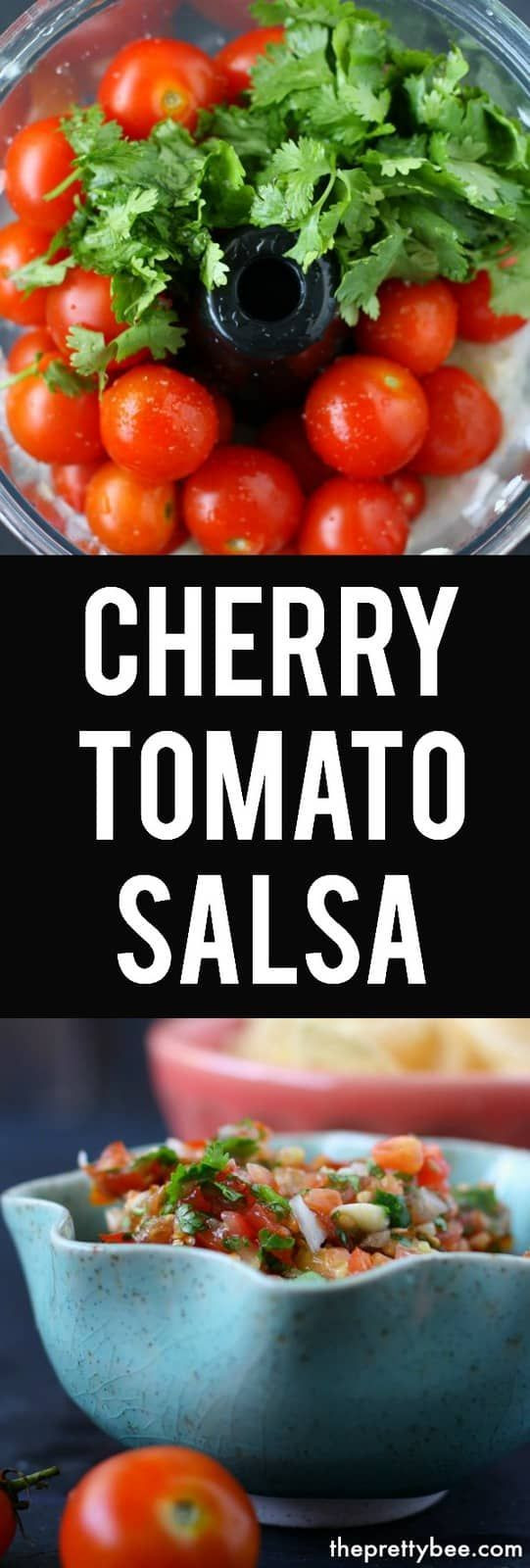 Canning Cherry Tomatoes Recipes  Simple Cherry Tomato Salsa Recipe